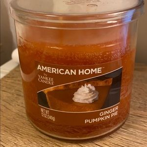 Ginger Pumpkin Pie Yankee Candle